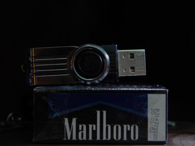 rokok dan flasHdisk